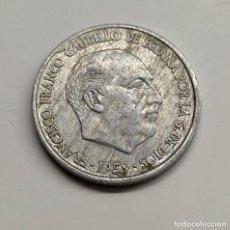 """Monedas Franco: FRANCO. 10 CTS. 1959. EXCESO METAL POR LA ZONA DE """"CA"""" DE CAUDILLO.. Lote 254648250"""