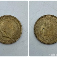 Monedas Franco: MONEDA. ESPAÑA. FRANCISCO FRANCO. 1 PESETA. 1947. ESTRELLAS LEGIBLES *19-54*. S/C. VER. Lote 254680015