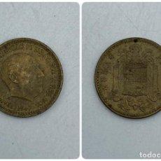 Monedas Franco: MONEDA. ESPAÑA. FRANCISCO FRANCO. 1 PESETA. 1947. ESTRELLAS LEGIBLES *19-52*. S/C. VER. Lote 254680385