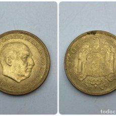 Monedas Franco: MONEDA. ESPAÑA. FRANCISCO FRANCO. 2'5 PESETAS. 1953. ESTRELLAS LEGIBLES *19-71*. MUY RARA. VER. Lote 254707795