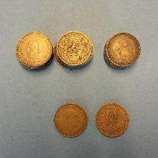 Monedas Franco: LOTE DE 25 MONEDAS. FRANCISCO FRANCO CAUDILLO. UNA PESETA.. Lote 254932655