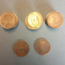Monedas Franco: LOTE DE 25 MONEDAS. JUAN CARLOS I. 25 PESETAS.. Lote 254933135