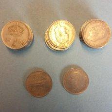 Monedas Franco: LOTE DE 25 MONEDAS. JUAN CARLOS I. 25 PESETAS.. Lote 254933150