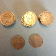 Monedas Franco: LOTE DE 25 MONEDAS. JUAN CARLOS I. 25 PESETAS.. Lote 254933180
