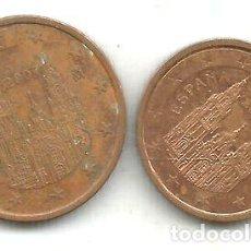 Monedas Franco: M 9198 ESPANA EURO LOTE 2 MONEDAS 2 5 CENTAVOS 2007. Lote 255286330