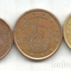 Monedas Franco: M 9931 ESPANA EURO LOTE 3 MONEDAS 2004. Lote 255290535
