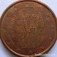 Monedas Franco: BLAMANAN ESPANA 1 EURO CENT 2002. Lote 255299545