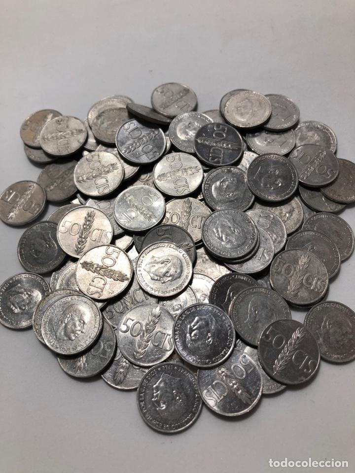 Monedas Franco: 100 monedas de 50 céntimos de 1966. Sin clasificar - Foto 4 - 255644695