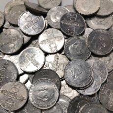 Monedas Franco: 100 MONEDAS DE 50 CÉNTIMOS DE 1966. SIN CLASIFICAR. Lote 255644695
