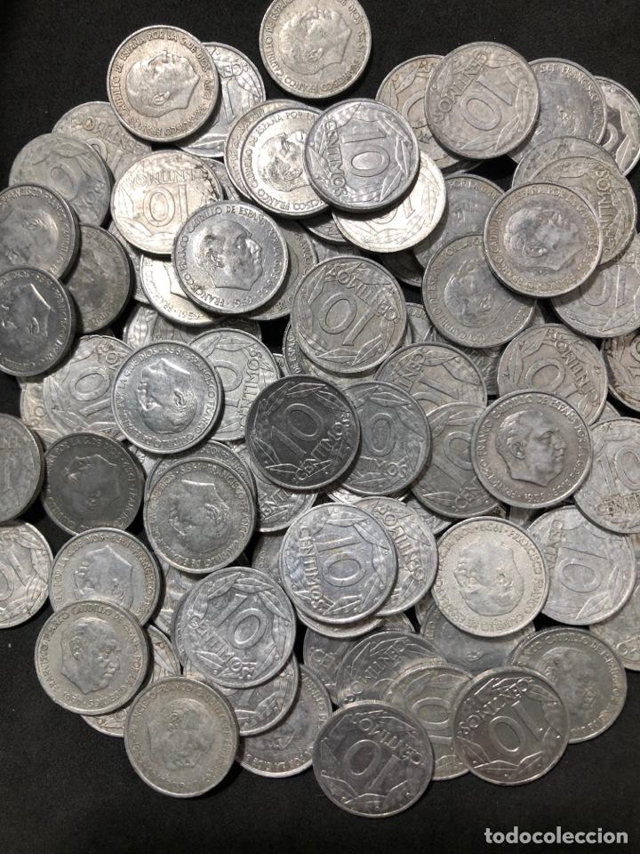 Monedas Franco: 100 monedas de 10 céntimos de 1959 . Excelente buena conservación - Foto 2 - 255654245