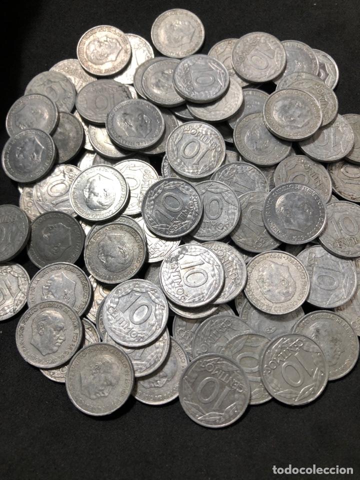 Monedas Franco: 100 monedas de 10 céntimos de 1959 . Excelente buena conservación - Foto 3 - 255654245