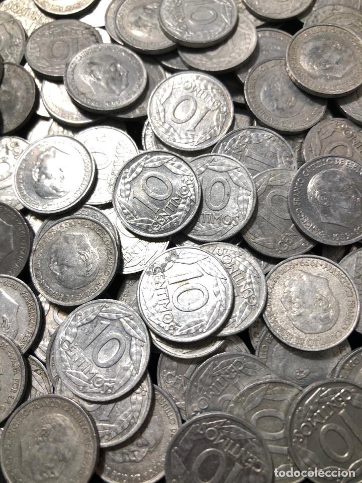 100 MONEDAS DE 10 CÉNTIMOS DE 1959 . EXCELENTE BUENA CONSERVACIÓN (Numismática - España Modernas y Contemporáneas - Estado Español)