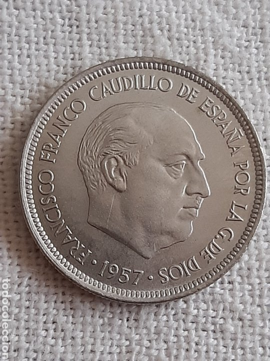 (ESPAÑA)(1957*75) 5 PESETAS ESTADO ESPAÑOL (Numismática - España Modernas y Contemporáneas - Estado Español)