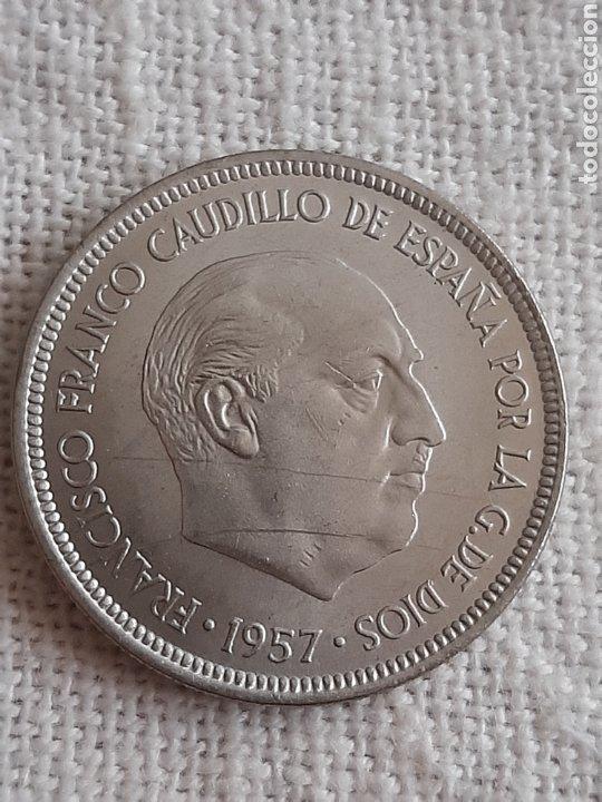 (ESPAÑA)(1957*74) 5 PESETAS ESTADO ESPAÑOL (Numismática - España Modernas y Contemporáneas - Estado Español)