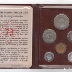 Monedas Franco: CARTERA MONEDAS AÑO 1957 CON ESTRELLA 73*. Lote 256001460