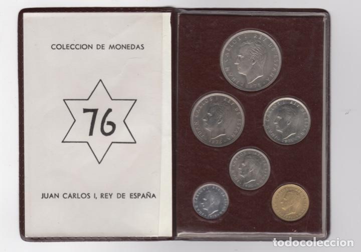 CARTERA MONEDAS AÑO 1957 CON ESTRELLA 76* (Numismática - España Modernas y Contemporáneas - Estado Español)