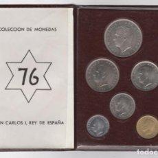 Monedas Franco: CARTERA MONEDAS AÑO 1957 CON ESTRELLA 76*. Lote 256003225