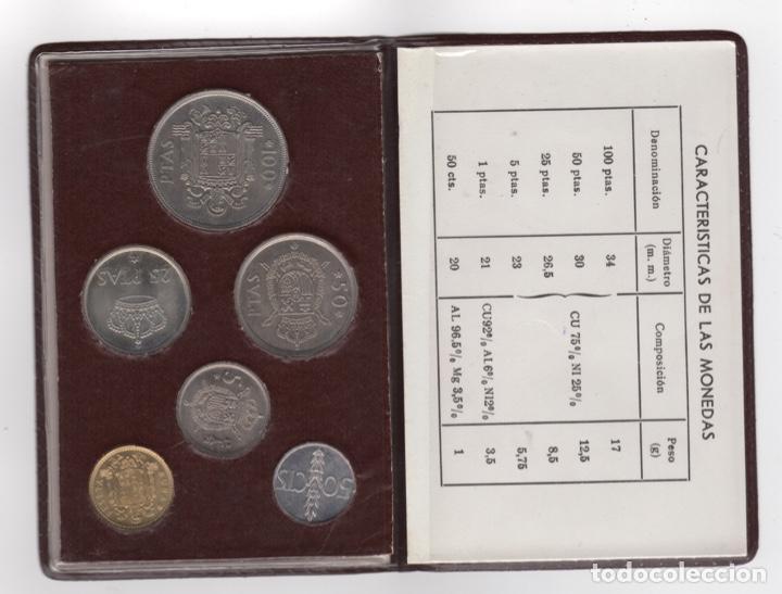Monedas Franco: Cartera monedas año 1957 con estrella 76* - Foto 2 - 256003225