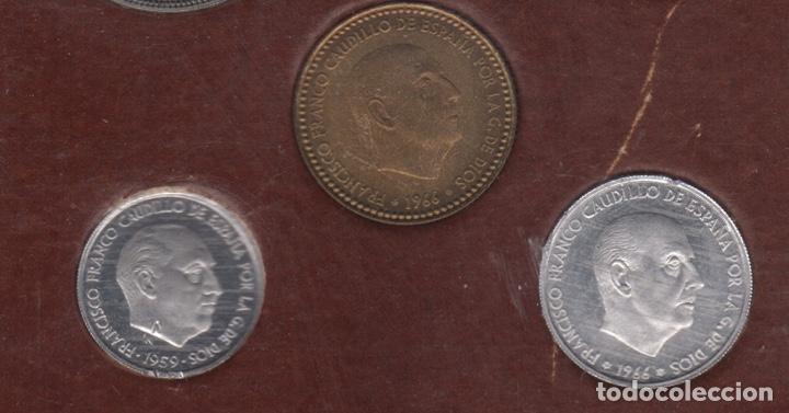 Monedas Franco: Cartera monedas año 1957 con estrella 73* - Foto 5 - 256001460