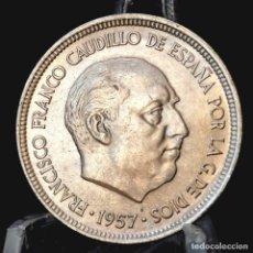 Monedas Franco: ⚜️ B2229. SIN CIRCULAR MENOS. 5 PESETAS 1957 *68. AC299. Lote 256067855