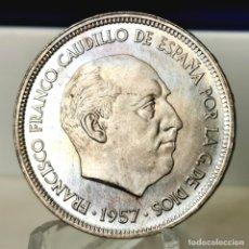Monedas Franco: ⚜️ B2224. SIN CIRCULAR. PRECIOSO COLOR. 50 PESETAS 1957 *67. AC428. Lote 257494155