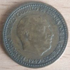 Monedas Franco: PESETA 1947 *51 RARA, MUY ESCASA. Lote 257541510