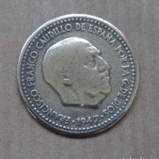 Monedas Franco: 1 PESETA DE FRANCO 1947. Lote 257542640