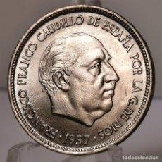 Monedas Franco: ⚜️ 25 PESETAS 1957 *69. SIN CIRCULAR MENOS. AC390. Lote 257545030