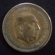 Monedas Franco: MONEDA DE 2,50 PESETAS ESPAÑA AÑA 1953 ESTRELLA 54. Lote 257545625