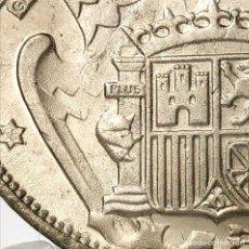 Monedas Franco: ⚜️ 25 PESETAS 1957 *68. EBC+. ERROR DOS PLUMAS ALA IZQUIERDA. AC381. Lote 257545960