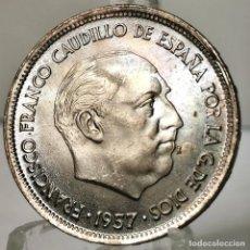 Monedas Franco: ⚜️ 25 PESETAS 1957 *67. SIN CIRCULAR MENOS / S/C. AC379. Lote 257546115