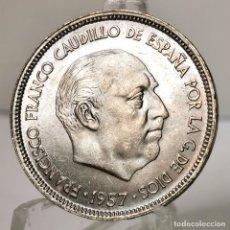 Monedas Franco: ⚜️ 25 PESETAS 1957 *65. SIN CIRCULAR MENOS. AC376. Lote 257546645