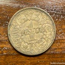 Monedas Franco: LOTE DE 44 MONEDAS DE 1 PTA. AÑO 1944. BUEN ESTADO.. Lote 259032795