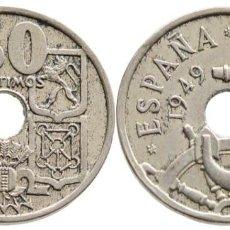 Moedas Franco: 50 CENTIMOS FLECHAS INVERTIDAS. Lote 259298425