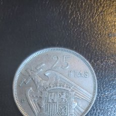 Monedas Franco: MONEDA DE 25 PESETAS DEL ESTADO ESPAÑOL DEL AÑO 1957. ESPECIAL (BA). Lote 260017585