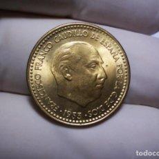 Monedas Franco: 1 PESETA 1953 *61 SIN CIRCULAR DE CARTUCHO PEQUEÑO DEFECTO DE ACUÑACION PERO PRECIOSA. Lote 260265030