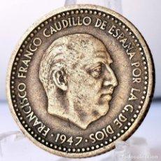 Monedas Franco: ⚜️ 1 PESETA 1947 *51. AC588. Lote 261639190