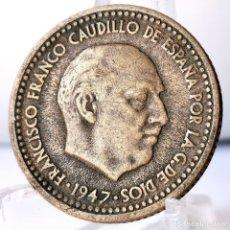 Monedas Franco: ⚜️ 1 PESETA 1947 *51. AC587. Lote 261639225