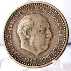 Monedas Franco: ⚜️ 1 PESETA 1947 *51. AC586. Lote 261639295