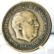 Monedas Franco: ⚜️ 1 PESETA 1947 *49. AC612. Lote 261639530