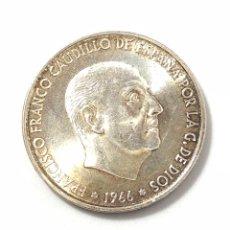 Monedas Franco: MONEDA DE 100 PESETAS DE PLATA DE 1966 ESTRELLA DEL 70. EBC.. Lote 261868760