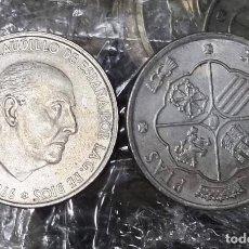 Monedas Franco: 1 MONEDA PLATA 100 PESETAS FRANCO 1966 ESTRELLAS 19 66 O 67 O 68 MBC+ ORIGINAL. Lote 261987710