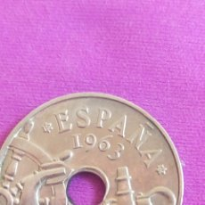 Monedas Franco: 50 CÉNTIMOS 1963, ESTADO ESPAÑOL. Lote 262081520