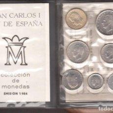 Monnaies Franco: MONEDAS DE ESPAÑA JUAN CARLOS I AÑO COMPLETO 1984 S/C. Lote 262103830
