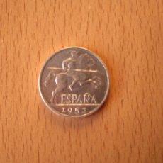 Monedas Franco: MONEDA 10 CÉNTIMOS ESTADO ESPAÑOL FRANCO AÑO 1953 JINETE IBÉRICO ESPAÑA ALUMINIO PERIODO NACIONAL. Lote 262484075