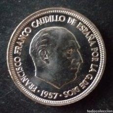 Monnaies Franco: MONEDA SC DE 5 PESETAS FRANCO 1957 ESTRELLA 75. Lote 289018338
