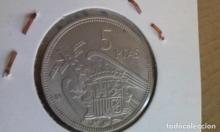 Monedas Franco: monedas de franco B A exposicion internacional barcelona 5 ptas. 25 ptas. 50 ptas , - Foto 5 - 266259278