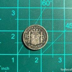 Monedas Franco: LOTE NUMISTICA 25 - MONEDA ESPAÑA 2 PESETAS DE 1870. Lote 268619149