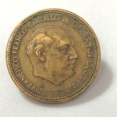 Monedas Franco: MONEDA DE 2,50 PESETAS DE 1953 ESTRELLA 54.. Lote 268742954