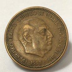 Monedas Franco: MONEDA DE 2,50 PESETAS DE 1953 ESTRELLA DEL 56.. Lote 268816139
